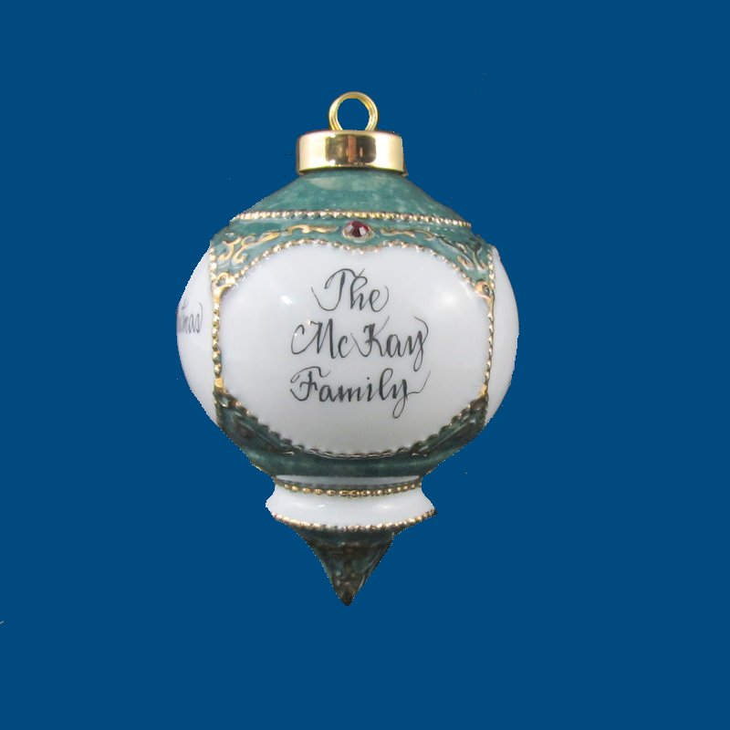 Personalized Gifts | Christmas Gifts | Victorian Ornament