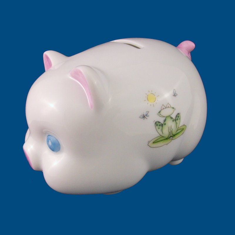Side of Piggy Bank