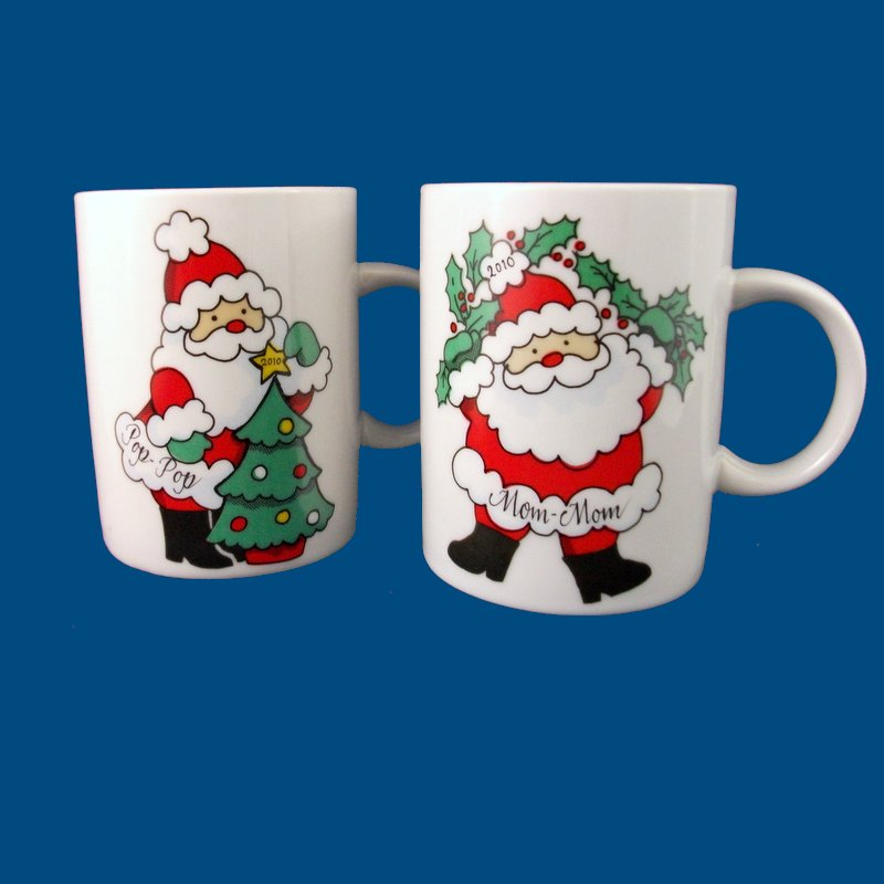 Personalized gifts the painted name unique gift ideas for Unique christmas mugs