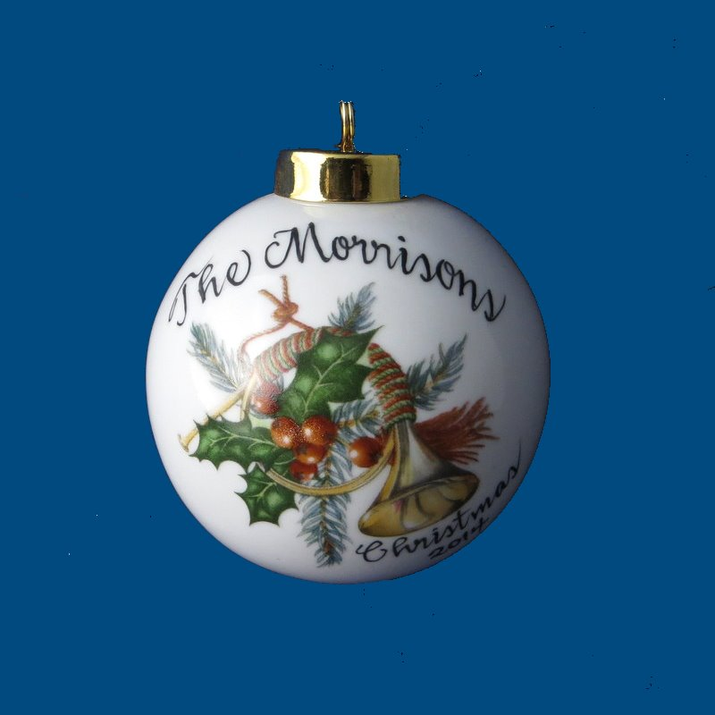 Personalized gifts christmas gifts christmas ornaments for Custom christmas tree ornaments
