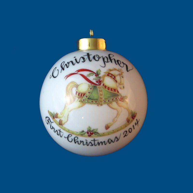 Personalized gifts christmas ornaments