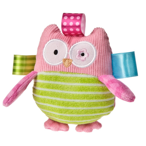 Taggies Oodles The Owl Rattle-rattle, Taggies, Taggies rattle, Owl rattle, baby rattle, new baby gift, new baby, rattle for baby, Oodles The Owl Rattle