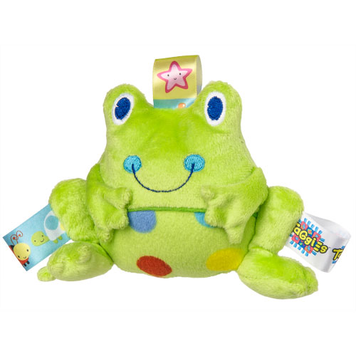 Taggies Spotted Frog Rattle-Taggies, Taggies Rattle, Spotted Frog Taggies Rattle, Rattle, Bay Gift, New Baby, Baby Toy, Baby Shower