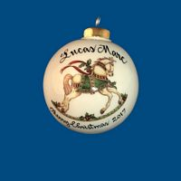 Personalized Hand Painted Porcelain Christmas Ball w/ Horse*-gift idea, personalized gifts, christmas, christmas gifts, christmas gift ideas, xmas ornaments, christmas ornaments, gifts for christmas, present ideas, ornament, christmas tree ornaments, personalized christmas ornaments, homemade christmas ornaments, first christmas ornaments, christmas ball ornament, engraved christmas ornament, christmas balls, christmas ball decorations