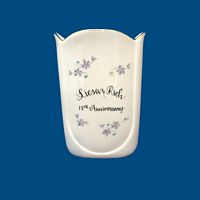 Personalized Hand Painted Porcelain Vase