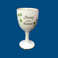 New Personalized Hand Painted Kiddush Cup for Wedding