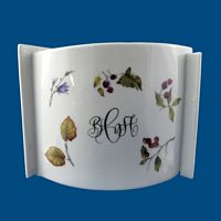 Personalized Hand Painted Short Modern Vase