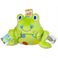 Taggies Spotted Frog Rattle